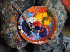 画家のように自分の人生を描く