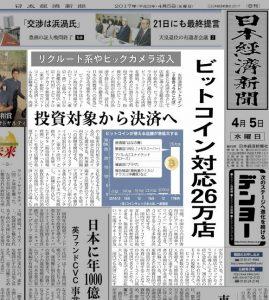 日経新聞-ビットコイン-