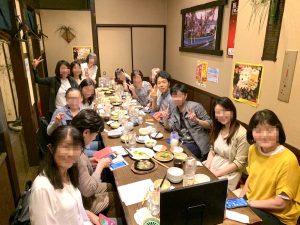 在宅翻訳起業コミュニティ 食事会2